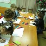 Занятие с детьми в детско-родительском клубе Огоньки продолжение