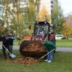 Жители Кировского района приглашаются 19 октября на субботник