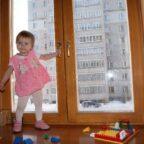 Как сделать безопасные окна для детей!